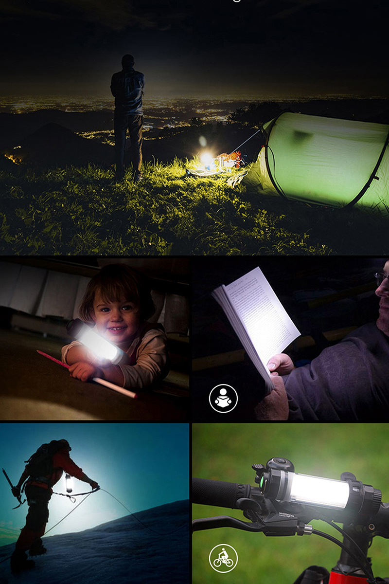 led outdoor camping light a1