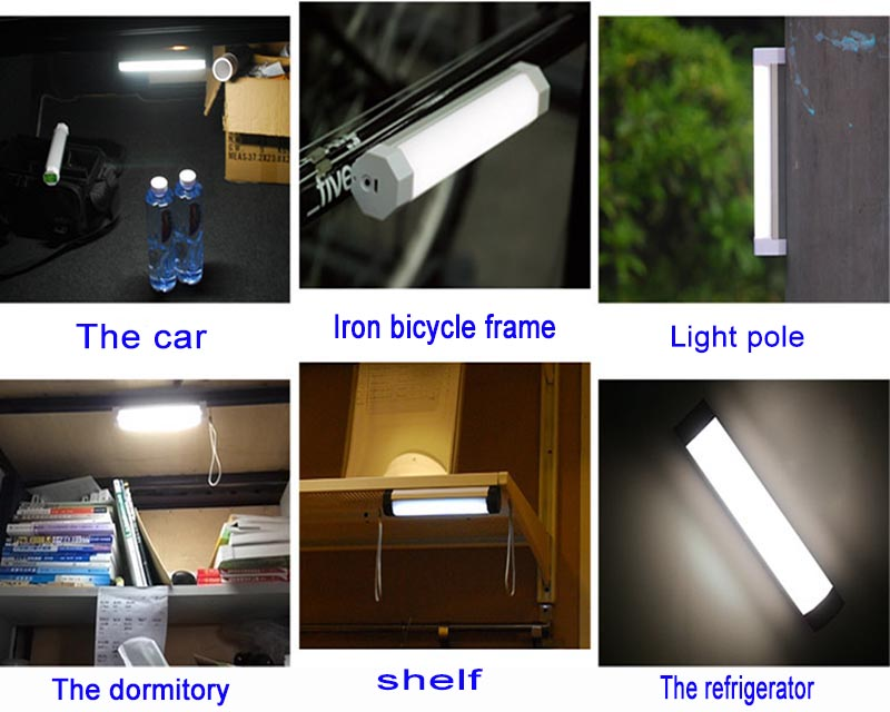 Led Magnetic Outdoor Camping Light B2 Jhaled