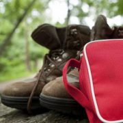 camping shoes bag