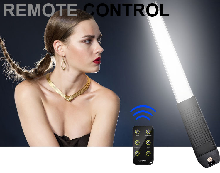 LED Photography Light rainproof remote adjustable detail 2