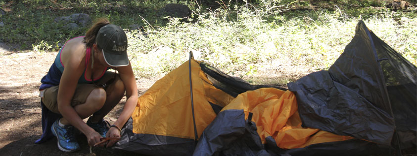 find camping outdoor