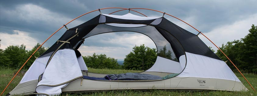 camping tent safe tips