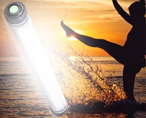 waterproof-led camping light-powerbank-a1