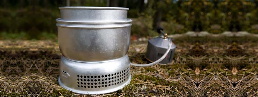 cooking outside camping